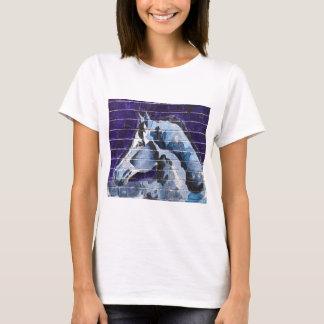 Blu, Logan Square Blue Line T-Shirt