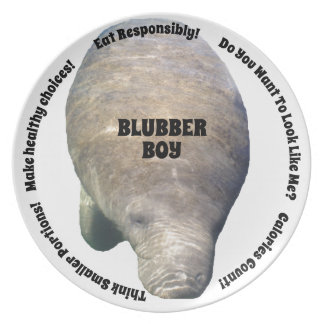 Blubber Boy Diet Plate