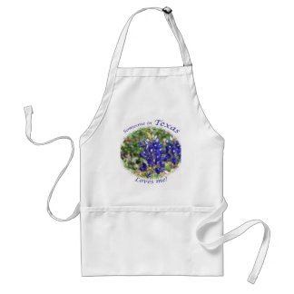 "Blubonnet ""Someone in Texas Loves Me"" Apron"
