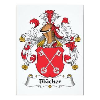 Blucher Family Crest Card