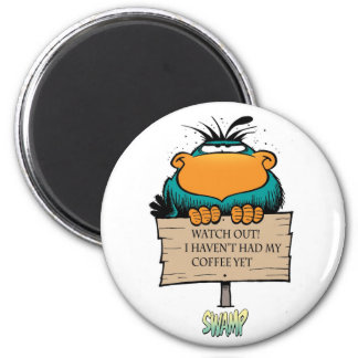 Bludgerigar Morning Coffee Magnet