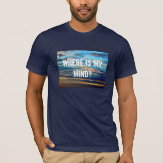 blue3, Where is mymind? T-Shirt