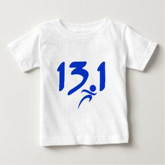 Blue 13.1 half-marathon baby T-Shirt
