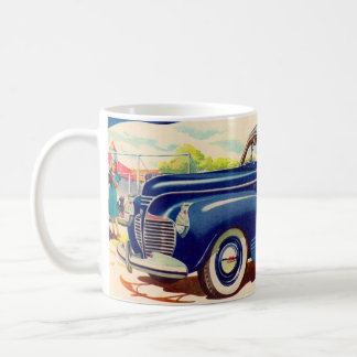 blue 1941 Plymouth Coffee Mug
