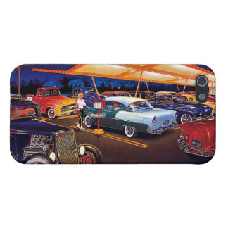 Blue 1955 Chevy Vintage Chevrolet iPhone 5/5s Case
