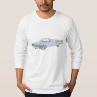 Blue 1960 Chevy Impala Long Sleeve T-Shirt