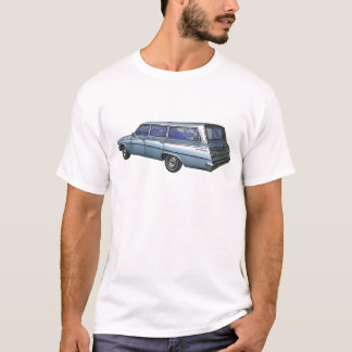 Blue 1962 Chevrolet station wagon. T-Shirt