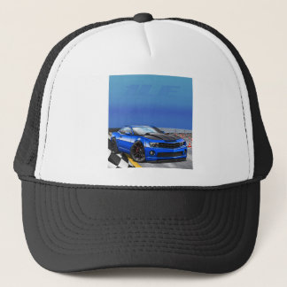 Blue_1LE Trucker Hat