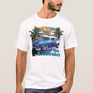 Blue 55 Chevy Lowrider T-Shirt