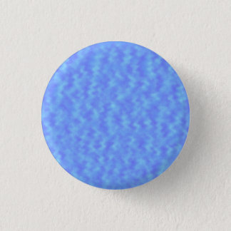 Blue Abstract 1 Inch Round Button