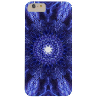Blue Abstract Ancient Art Barely There iPhone 6 Plus Case