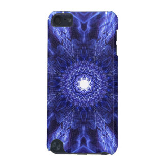 Blue Abstract Ancient Art iPod Touch (5th Generation) Cases