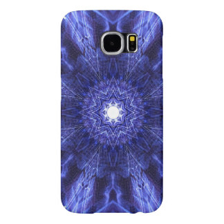 Blue Abstract Ancient Art Samsung Galaxy S6 Cases