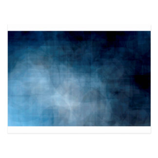 Blue abstract background postcard