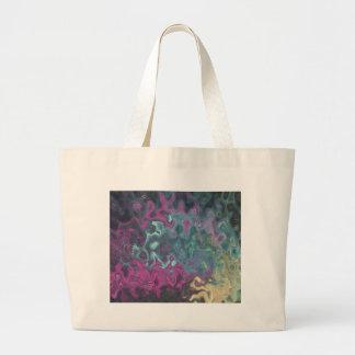 Blue Abstract Goldfish Bag