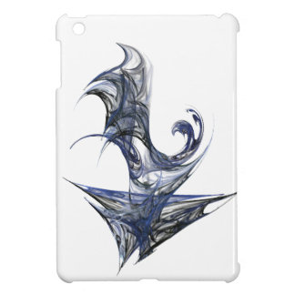 Blue Abstract Graphic iPad Mini Case