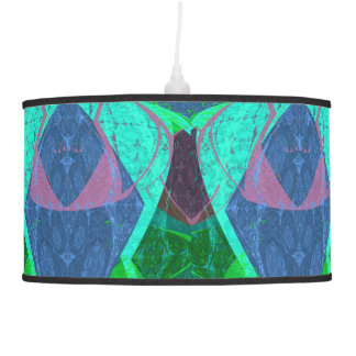 Blue Abstract Magical Lamp