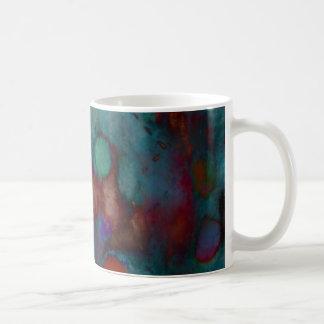 Blue Abstract Mug
