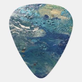 Blue Abstract No. 4 Guitar Pick