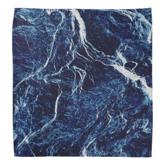 Blue Abstract Pattern Bandana