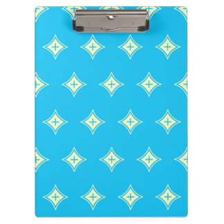 Blue Abstract Pattern Clipboards