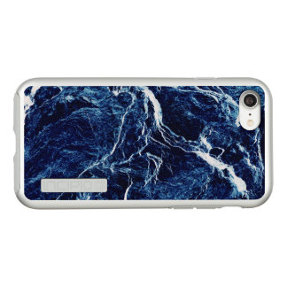 Blue Abstract Pattern Incipio DualPro Shine iPhone 8/7 Case