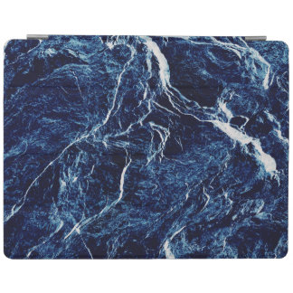 Blue Abstract Pattern iPad Cover