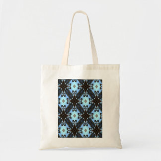 Blue Abstract Pattern Tote Bag