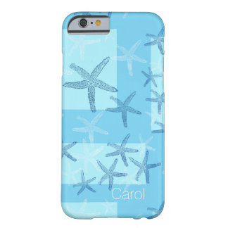 Blue Abstract Starfish iPhone 6 Case