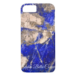 Blue abstract Stone Case-Mate iPhone Case