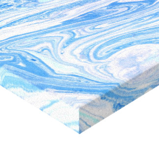 Blue abstract Stretched art  Canvas Print