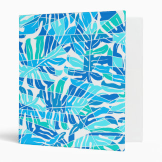Blue abstract surf binder