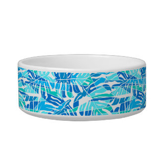 Blue abstract surf bowl