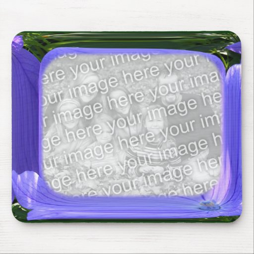 Blue Abstract template ~ mousepad