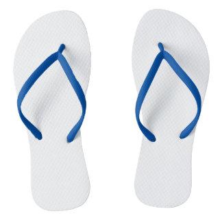 Blue Adult Flip Flops, Slim Straps Flip Flops