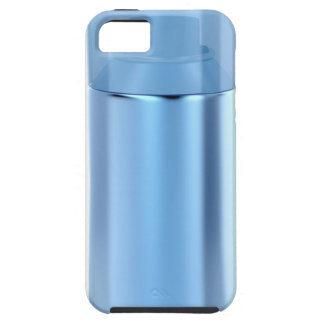 Blue aerosol spray can iPhone 5 cover