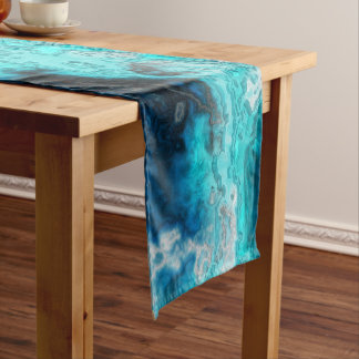 Blue Agate 1 Short Table Runner