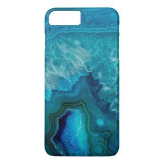 Blue Agate Crystal Geode iPhone 8 Plus/7 Plus Case