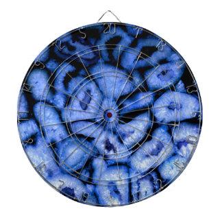 Blue Agate Dartboard