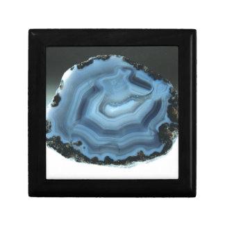 Blue Agate Gift Box