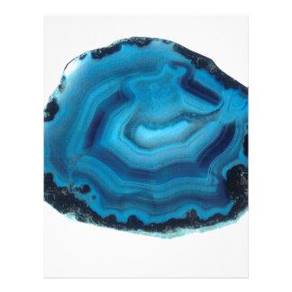 Blue Agate Letterhead