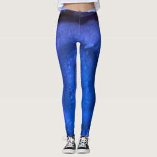 Blue Agate print Leggings