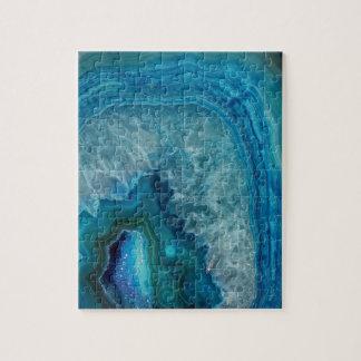 Blue Agate Puzzle