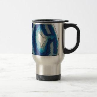 Blue Agate Travel Mug