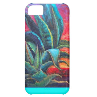 Blue Agave Cacti Sunrise by Sharles iPhone 5C Cases