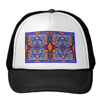 Blue Agave Surrealism by Sharles Trucker Hat