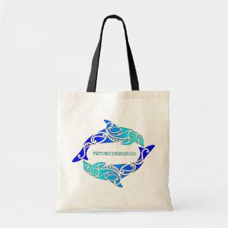 Blue Aihe (Dolphins) Design Bag