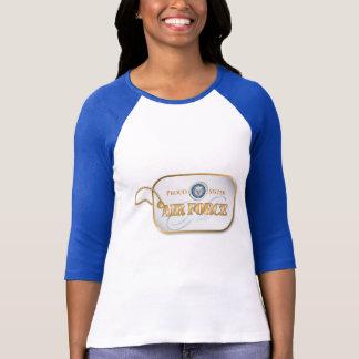 Blue Air Force Sister T-Shirt