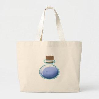 Blue Alchemy Bottle Large Tote Bag