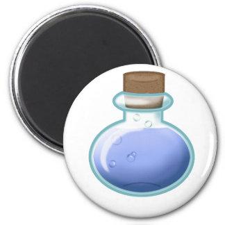 Blue Alchemy Bottle Magnet